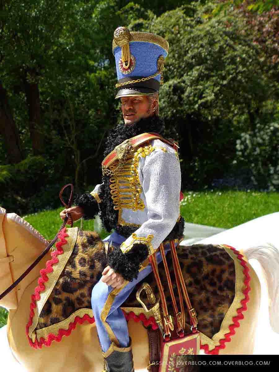 Officier du 5e regiment de hussards - MACHINEGUN
