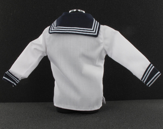 White jacket with insignia
