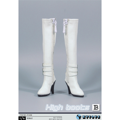 Female High Boots (White)