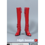 Female High Boots (Red)