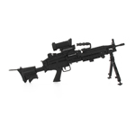 M249 black version