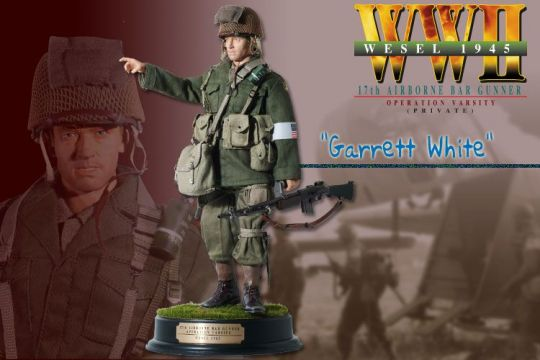 Garrett White 17th Airborne BAR Gunner (Private) - Operation Varsity - Wesel March 1945