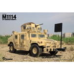 Die Cast M1114 Up-Armored HMMWV (Sand) (Damaged)