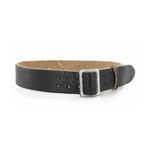German officers belt black