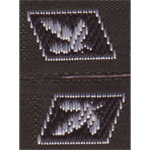 Elite Collar Tabs Gruppenfuhrer (Black)