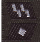 Elite Collar Tabs Unterscharfuhrer (Black)