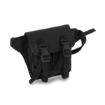 Tool Belt with Pouch (Black)
