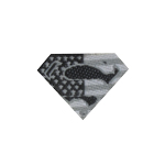 US Superman Patch (Grey)