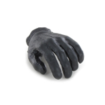 Gloved Left Hand with Peg (Black)