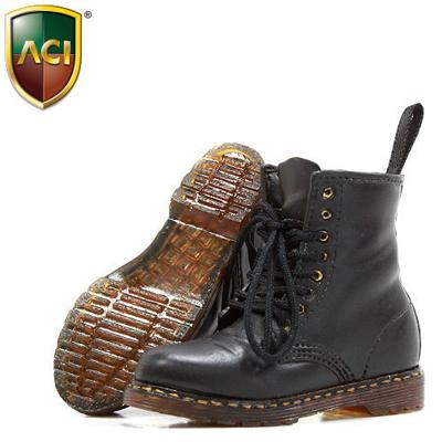 black doc martens shoes aci machinegun