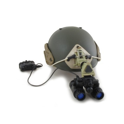 Airframe Helmet with PVS-31 NVG (Olive Drab)