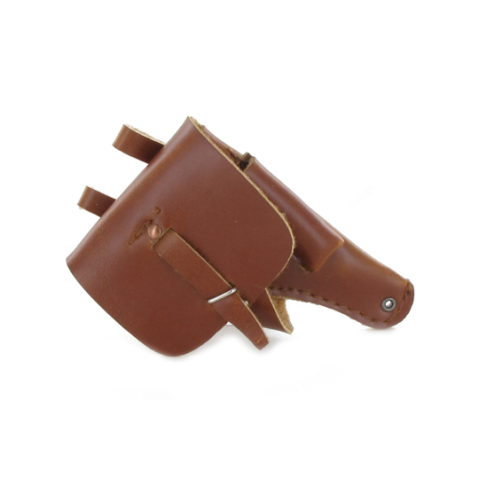 Leather Holster for Semi Automatic MAC 50 Pistol (Brown)