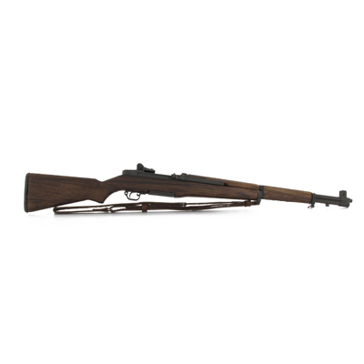Diecast and Wooden M1 Garand Rifle (Brown)