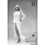 Nikita Evening Dress Set (White)