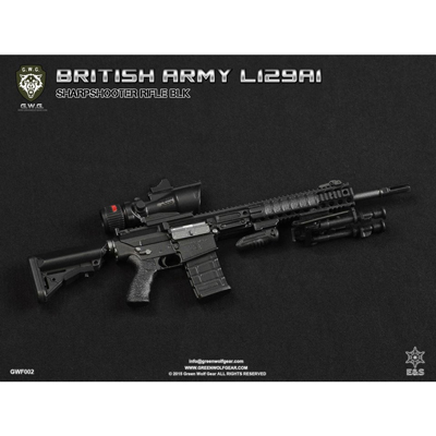 British Army L129A1 Sharpshooter Rifle (Black)