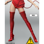 Female Devil High Boots (Red)