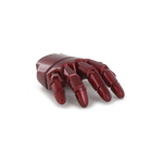 Mark VII articulated right hand