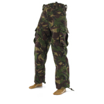 DPM camo trousers