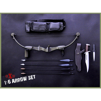 Bow and accessories Set (Black)