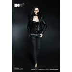 Female Biker Clothes Set (Black)