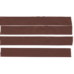 Plate adhesive tape Gaffer BROWN for custom 4X20 cm