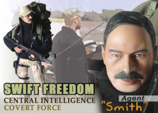 Central Intelligence Covert Force - Agent Smith