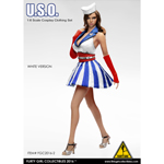 Female U.S.O Clothing Set (White)