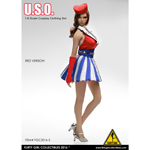 Female U.S.O Clothing Set (Red)