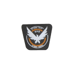 The Darkzone Agent Patch Type B (Black)