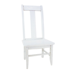 Wooden Chair (White)