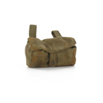 Worn M1915 Gas Mask Bag (Olive Drab)