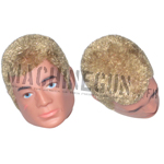 Action man head blond hair