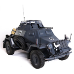 Sd.Kfz.222 Panzer Grey version