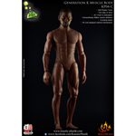 Generation K Muscle Afro American Male Body