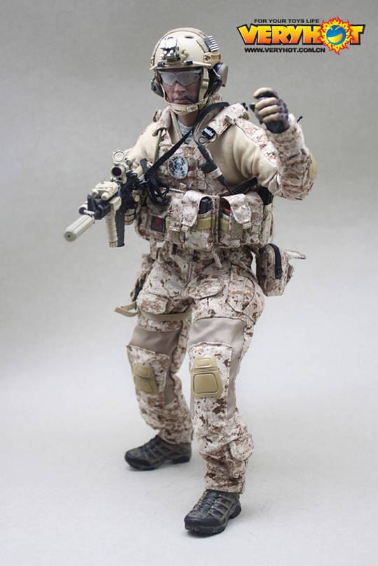 Toys For Seals : Navy seal devgru veryhot machinegun