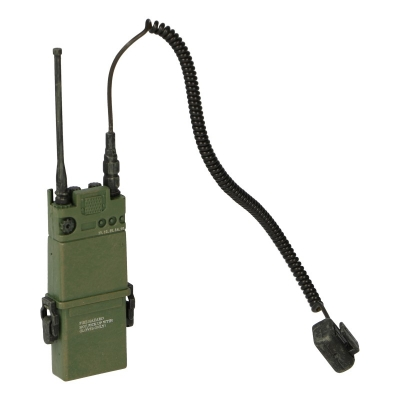 AN/PRC 126 Radio with Speaker Mic (Olive Drab)