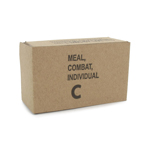 Vietnam War - US Army C-Ration Empty Box (Brown)
