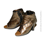 Shoes Series - Faux Alligator Skin High Heel Shoes