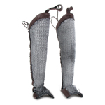 Chainmail Legs Protections (Grey)