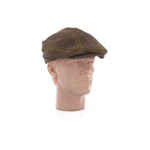Brown civilian driving cap