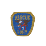 F.D.N.Y. Rescue Patch