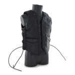 Sleeveless Leather Vest (Black)