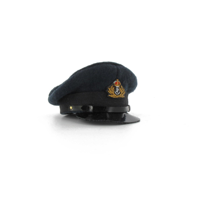 Royal Navy officer blue cap