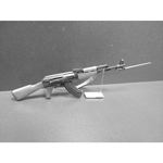 Diecast and wooden AK47 Type 56 Assault Rifle (Black)