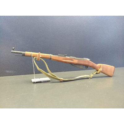 Diecast and wooden Mosin Nagant Type 44 Rifle (Brown)