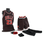 Michael Jordan Basketball set (Chicago Bulls Away Kit)