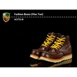 Fashion Boots Moc Toe (Brown)
