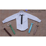 Man's Tie With Shirt Set B