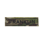FRANKLIN name patch