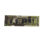 US ARMY patch black tiping